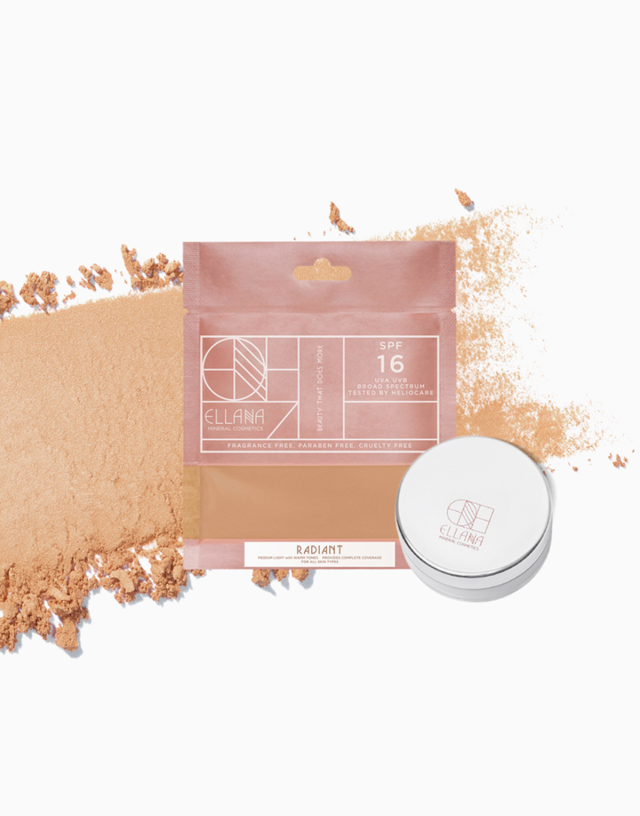 Loose Mineral Concealer Powder with Jar by Ellana Mineral Cosmetics | Radiant