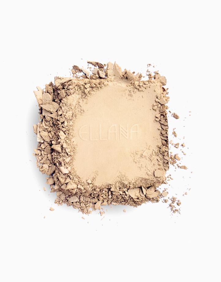 Pressed Mineral Foundation Refill by Ellana Mineral Cosmetics   Hazelnut