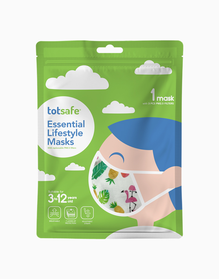 Totsafe Essential Lifestyle Mask by Totsafe | Flamingo