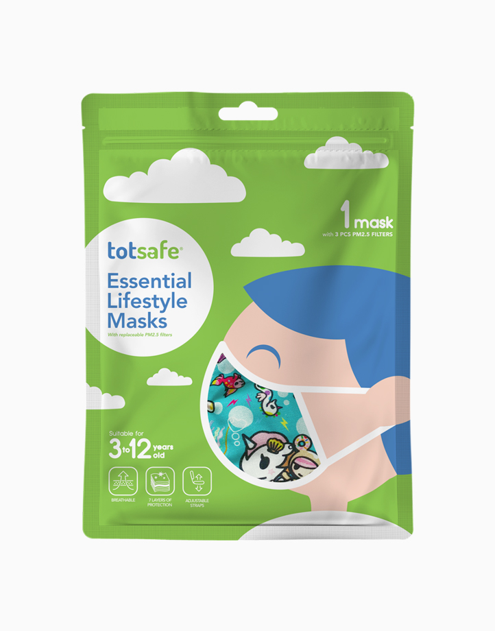Totsafe Essential Lifestyle Mask by Totsafe | Sea Punk