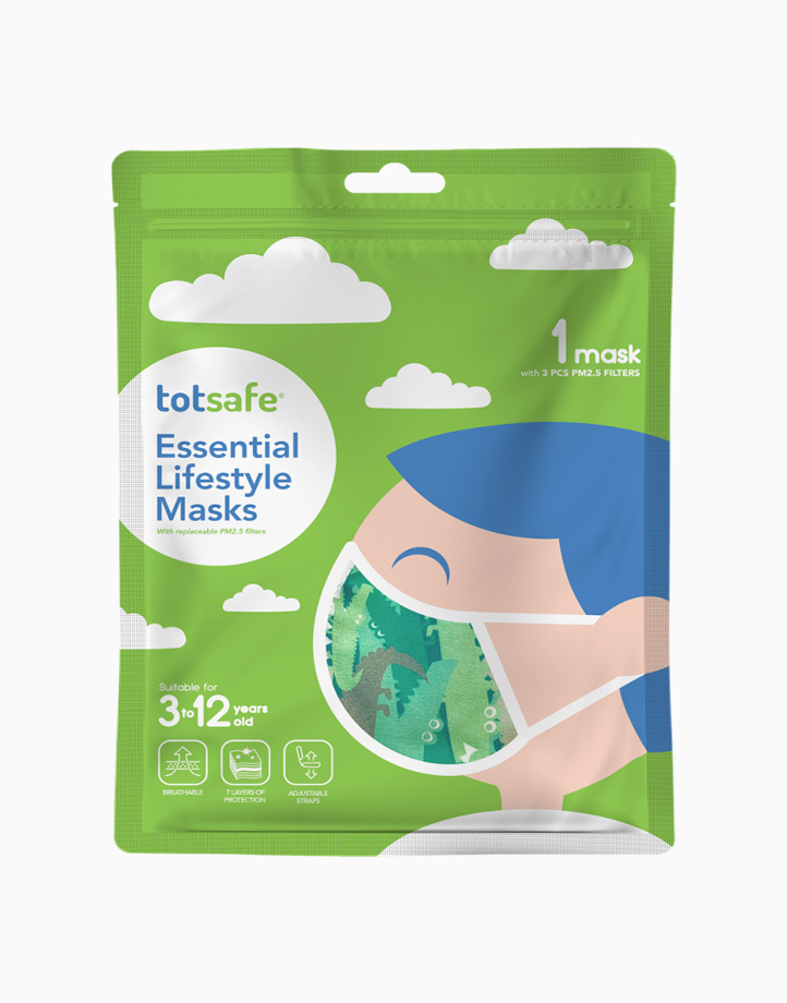 Totsafe Essential Lifestyle Mask by Totsafe | Alligator