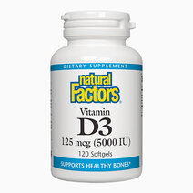 Vitamin d3 125mcg  5000iu  120 softgels