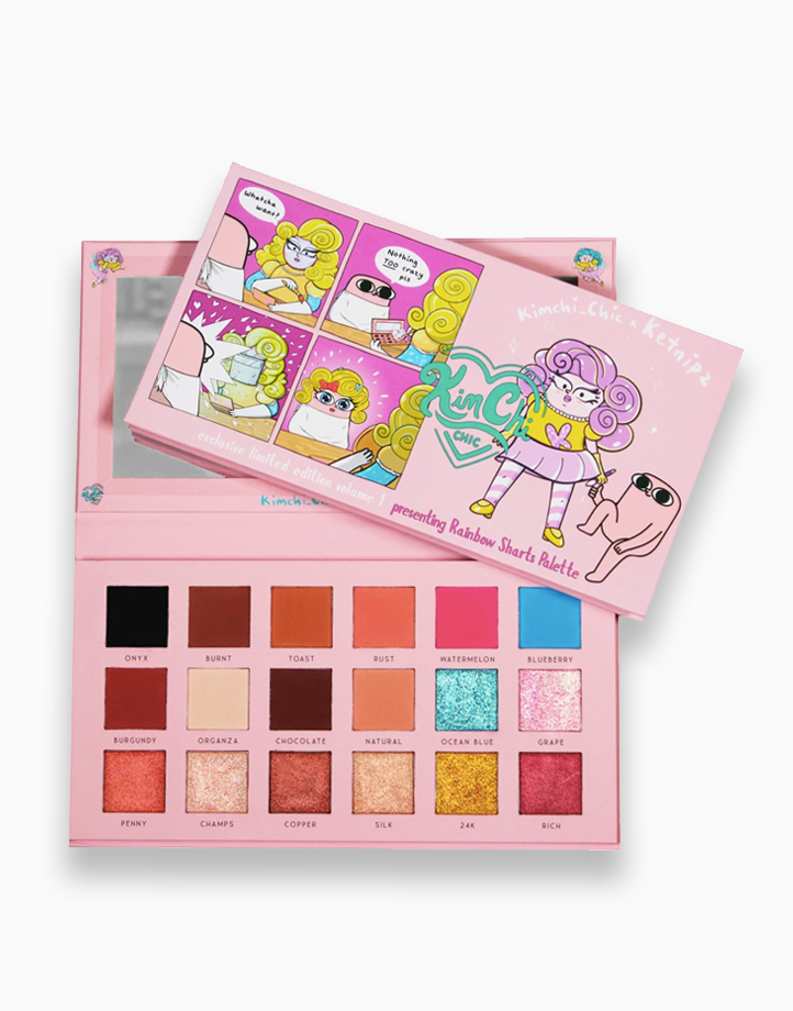 Rainbow Sharts Palette Ketnipz X Kimchi Chic Beauty Collector's Item by KimChi Chic Beauty