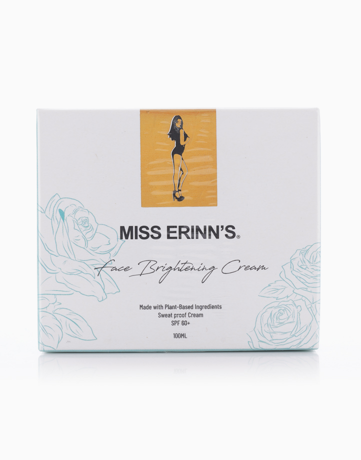 Face Brightening Instant Whitening Sweat-proof Cream with SPF60 by Miss Erinn's