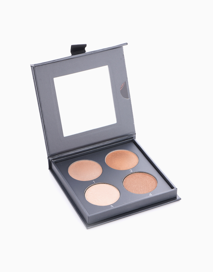 The Perfect Light Highlighting Palette by CoverFX | Medium Deep