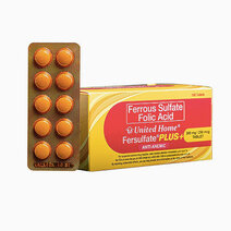 Unilab united home fersulfate plus %28iron   folic acid%29 supplements in blisters of 10 tablets 2