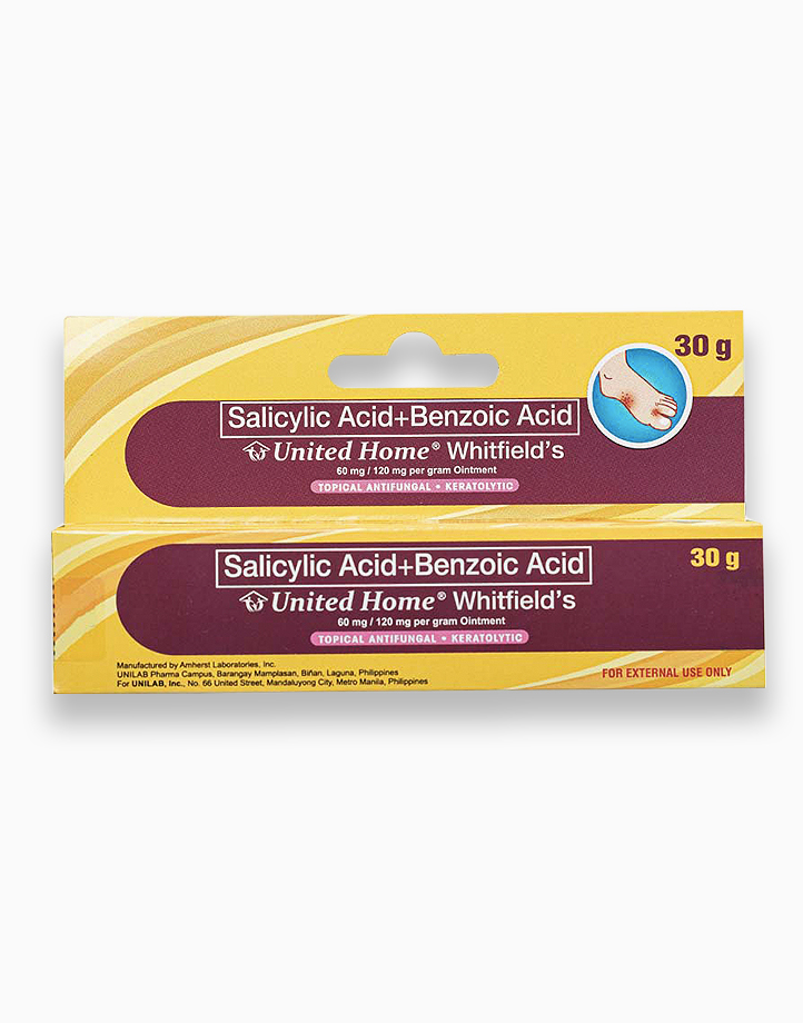 United Home Whitfield's Ointment Anti-Fungal Cream (30g Tube) by United Home