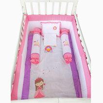 Kozy blankie a little princess crib set