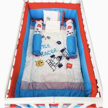 Kozy blankie car racer crib set