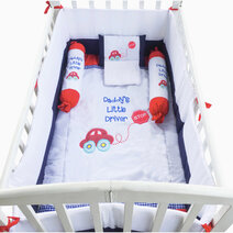 Kozy blankie daddy s little driver crib set