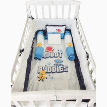 Kozy blankie dr robot crib set