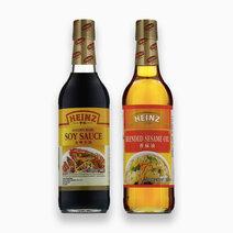 Heinz Soy Sauce & Sesame Oil (500ml x 2) by Heinz