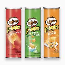 Pringles potato chips set of 3 flavors %28original  sour cream   onion  cheddar cheese%29