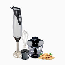 Hamilton beach 2 speed hand  blender with whisk and  chopping bowl 3