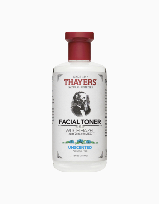Alcohol-Free Unscented Witch Hazel Toner by Thayers