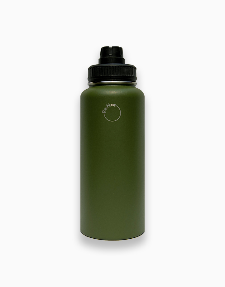 Re:New Logo Jug by Re:New Jugs   Army Green