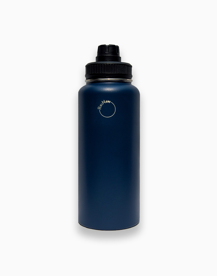 Re:New Logo Jug by Re:New Jugs   Navy Blue