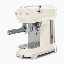 Smeg espresso coffee machine cream 1