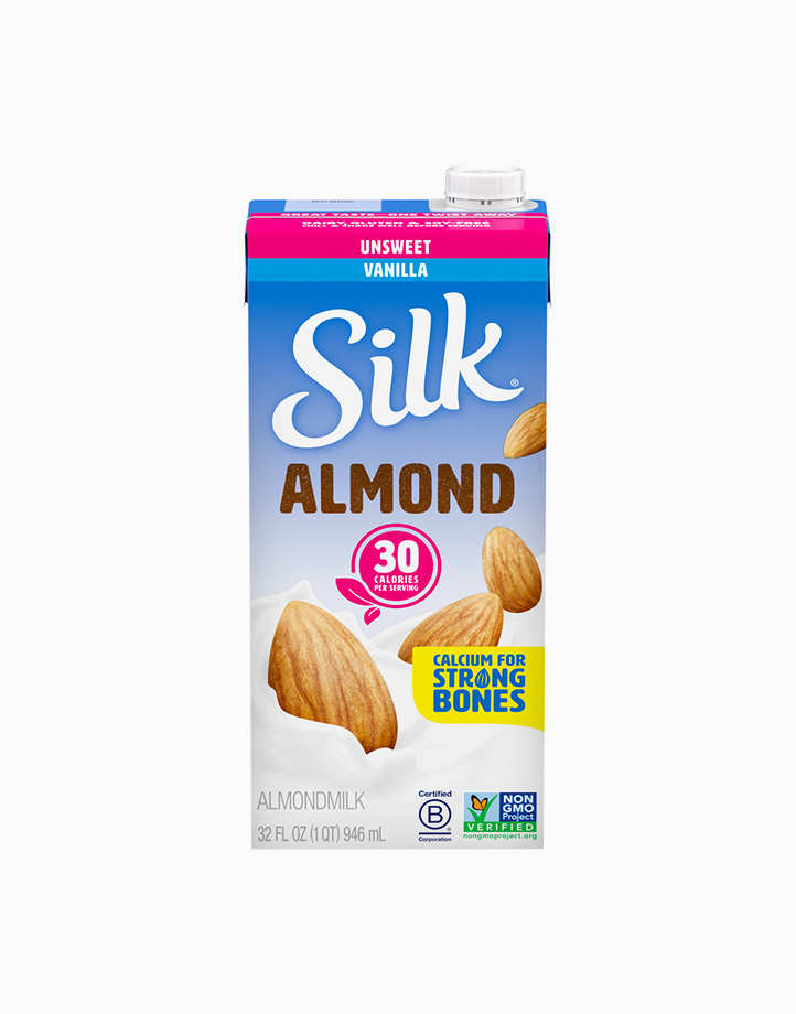 Silk Almond Milk Vanilla Unsweetened (946ml) by Silk