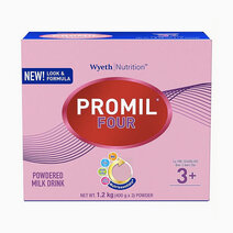Wyeth promil four powdered milk drink for pre schoolers over 3 years old  1.2kg