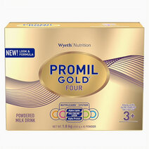 Wyeth promil gold  four powdered milk drink for pre schoolers over 3 years old  1.8kg
