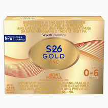 Wyeth s 26 gold one infant formula for 0 6 months  1.8kg