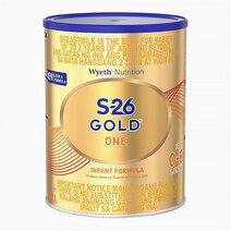 Wyeth s 26 gold one infant formula for 0 6 months  900g can