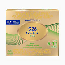 Wyeth s 26 gold two milk supplement for 6 12 months  1.2kg