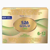 Wyeth s 26 gold two milk supplement for 6 12 months  1.8kg