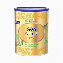 Wyeth s 26 gold two milk supplement for 6 12 months  900g can