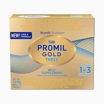 Wyeth s 26 promil gold three milk supplement for kids 1 3 years old  1.2kg