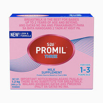 Wyeth s 26 promil three milk supplement for kids 1 3 years old  1.2kg