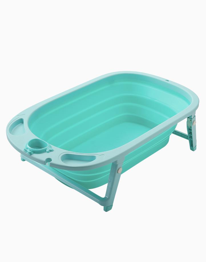 The 3-Fold Tub Set by The Baby Tub | Seafoam Green