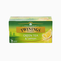 Twinings green tea and lemon tea 1