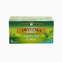 Twinings green tea and mint tea 2