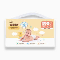 Re 1 baby moby diaper taped   small size