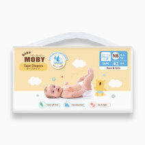 Re 2 baby moby diaper taped   new born size