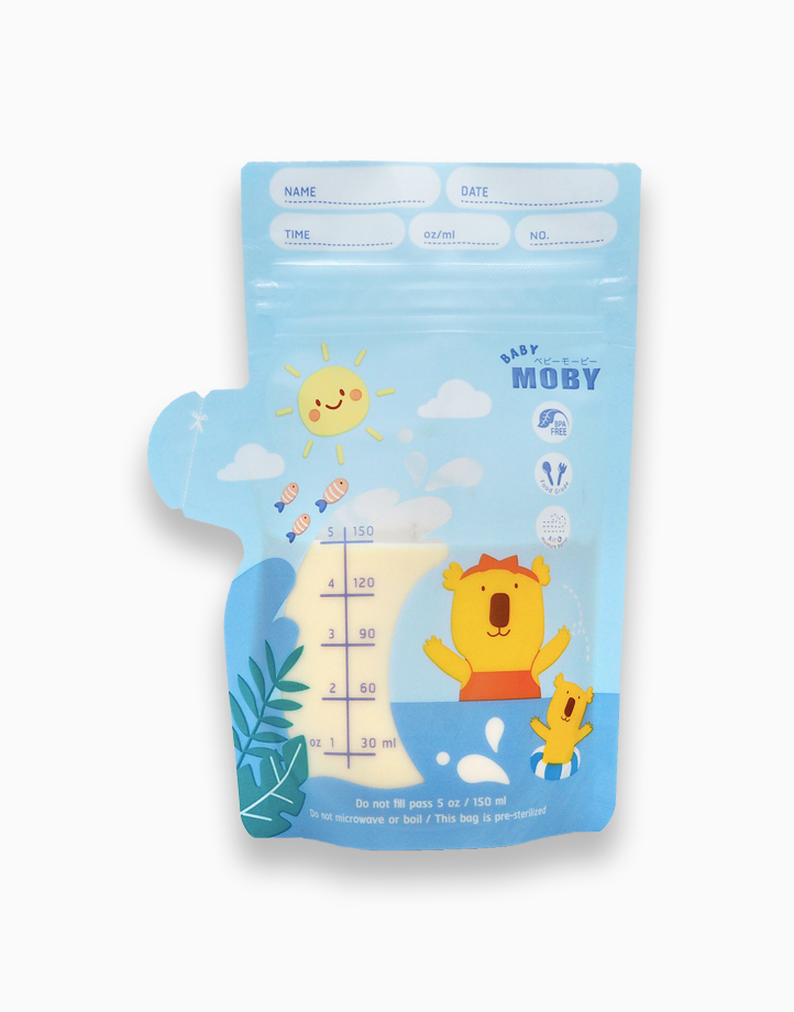 Breastmilk Bags (5oz/150ml) by Baby Moby