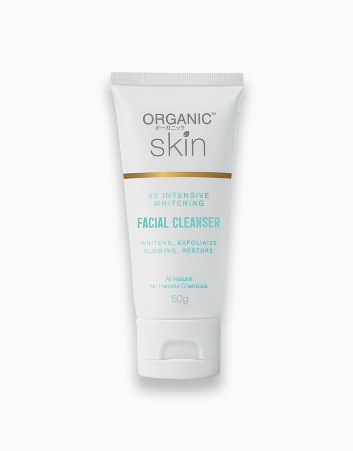 4x Intensive Whitening Facial Cleanser by Organic Skin Japan