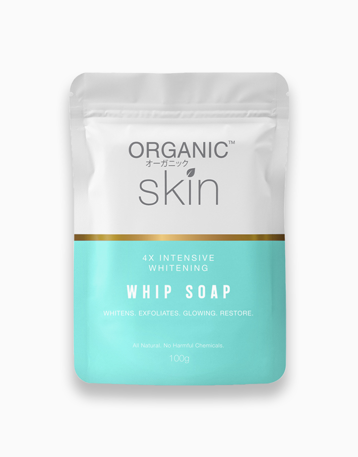 4x Intensive Whitening Whip Soap by Organic Skin Japan
