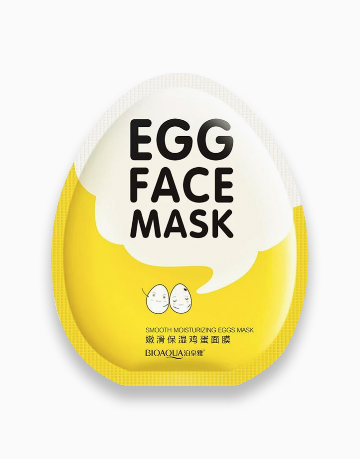 Moisturizing Egg Face Mask (BUY 1 GET 1 FREE) by Bioaqua