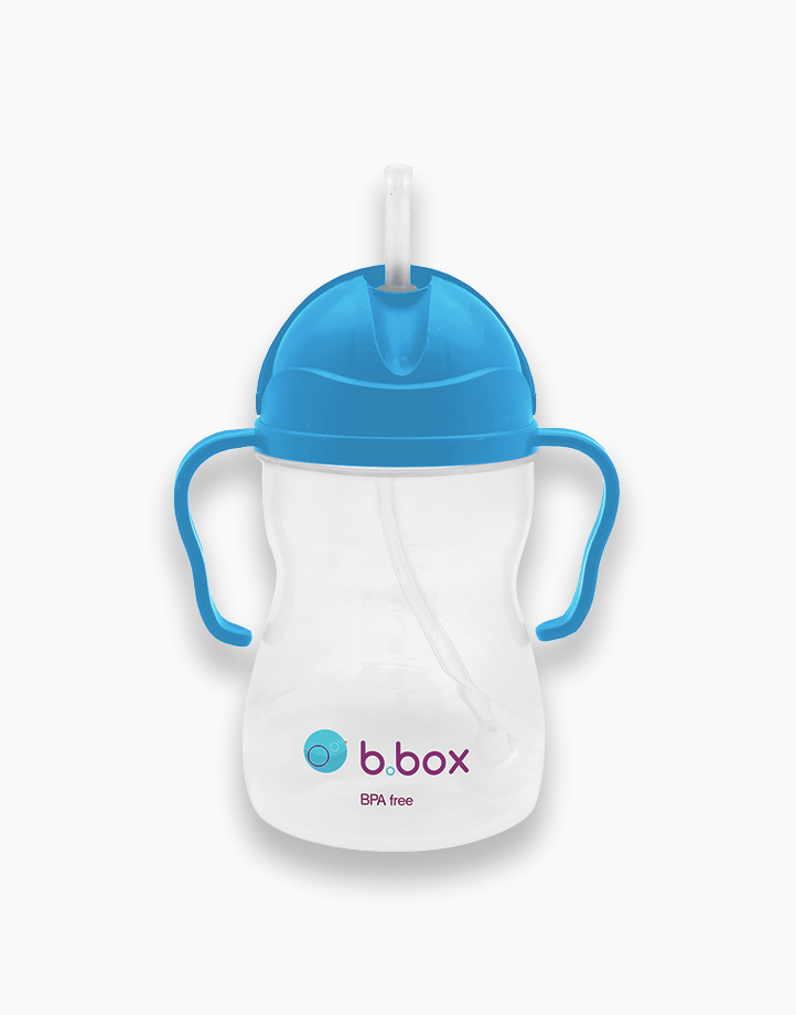 Sippy Cup with Weighted Straw (8oz) by b.box | Blueberry
