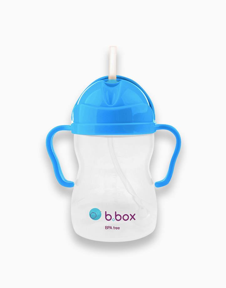 Sippy Cup with Weighted Straw (8oz) by b.box | Cobalt
