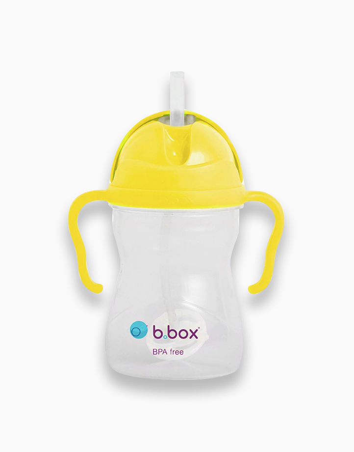 Sippy Cup with Weighted Straw (8oz) by b.box | Lemon