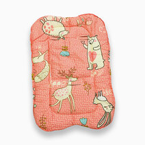 Peach rabbit carrier pad
