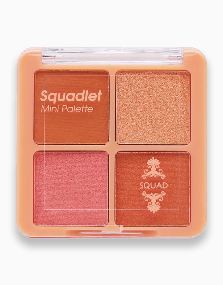 SQUADlet Eyeshadow Palette by SQUAD | Sanguine