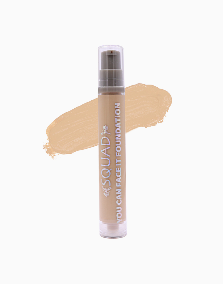 You Can Face It Liquid Foundation by SQUAD   Ivory