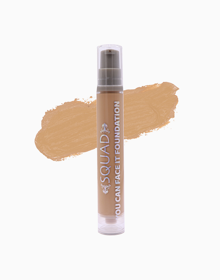 You Can Face It Liquid Foundation by SQUAD   Beige