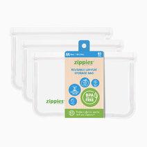 Re zippies reusable lay flat bags   medium 3s