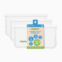 Reusable Lay Flat Bags (Small, 3s) by Zippies